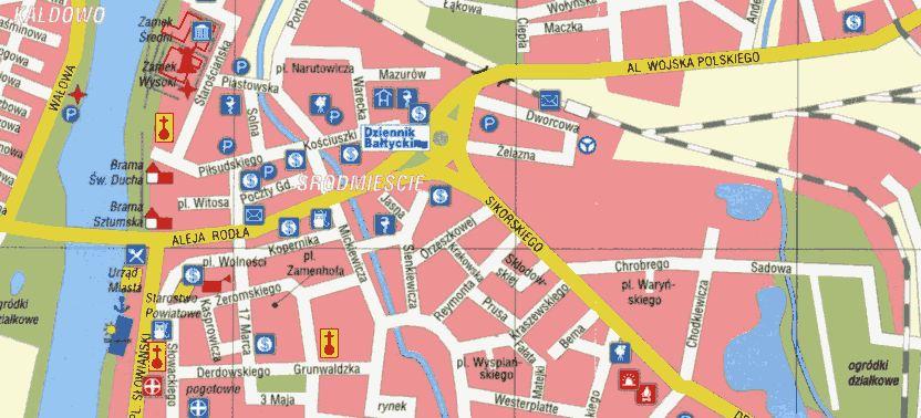 Opracowanie planu miasta