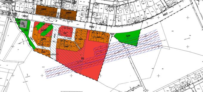 Plan zabudowy miasta